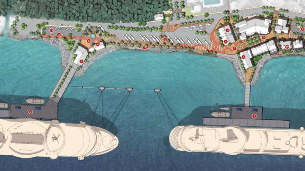 Mega Pier 2 Tula Curaçao